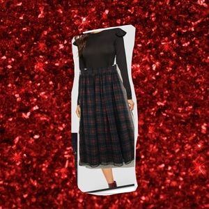 Express Holiday Plaid Green,Red,Black, and Blue